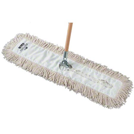 "*AU* AQC24ITW DUST MOP HEAD 5"" X 24"" 12/CS"