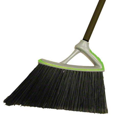 "BRA39S  13"" ANGLE BROOM  W/HANDLE (B410A)(BR-1024MH)"