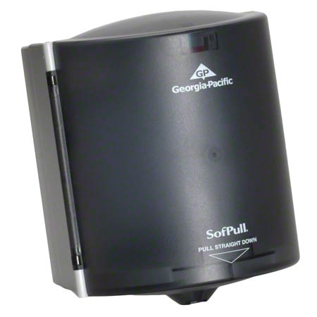 GPC 582-04 CENTER PULL TOWEL DISPENSER TRANS. SMOKE