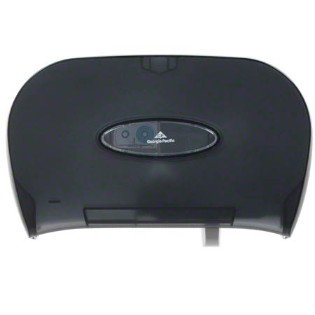 GPC 592-06 PLASTIC TWIN ROLL TOILET TISSUE DISPENSER