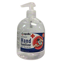 Apollo Instant Hand Sanitizer - 16.9 oz. Pump Bottle