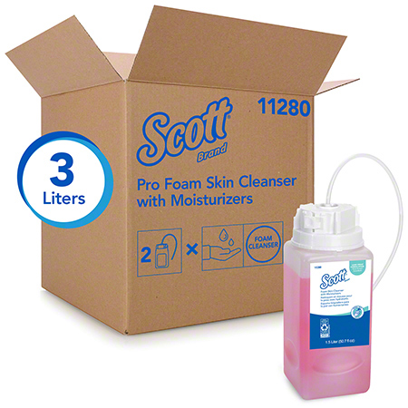 ##SA## KCC 11280 LUXURY FOAM CLEAN W MOIS 2/1.5L FOR