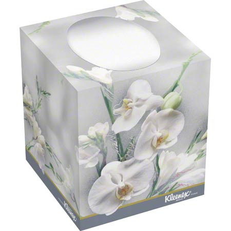 21270 KLEENEX BOUTIQUE FACIAL TISSUE 95/SHTS (CUBE)