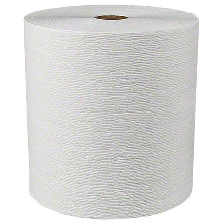 "KCC 50606 KLEENEX WHITE 1-PLY ROLL TOWELS 8""X600' 6RLS/CASE"