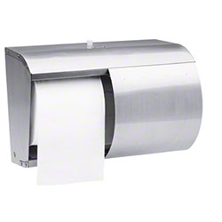 KC Coreless Double Roll Bath Tissue Dispenser - Stainless