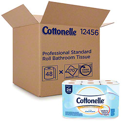 Cottonelle® Standard Roll Bathroom Tissue w/Clean Care  - 3.82 x 4.0