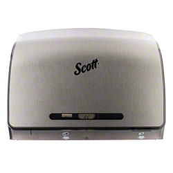 Scott® Pro Coreless Jumbo Roll Tissue Dispenser - Faux Stainless Steel