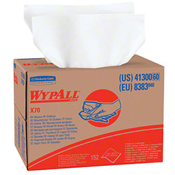 "Kimberly-Clark® WYPALL® X70 Wiper - 12.5"" x 16.8"", White"