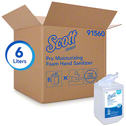 Scott® Pro Moisturizing Foam Hand Sanitizer - 1 L