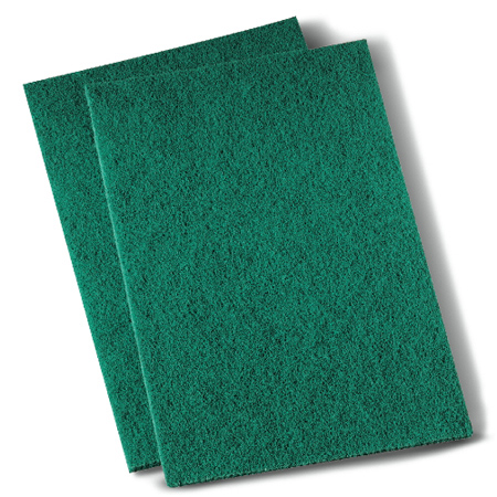 BWK 196 6X9 MEDIUM DUTY SCOURING PADS GREEN 20 PADS/BX