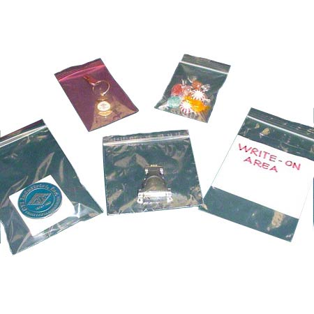 F20305 ZIP-GRIP POLY BAG 3X5 2MIL 1000/CS