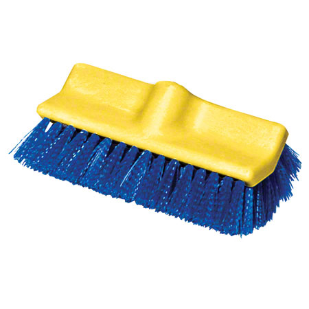 "B7501 BLU 10"" BLUE DECK BRUSH BI-LEVEL POLYPROPYLENE"