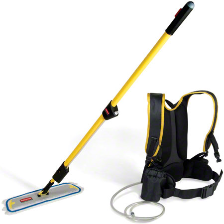 RCP Q979 FLOW FINISH BACKPACK APPLICATOR KIT (FLAT MOP) EACH