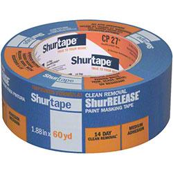 Shurtape® CP27® 14 Day ShurRELEASE® Blue Painters Tape - 48mm x 55m