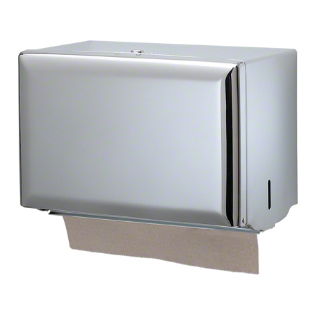 SJM T1800XC SINGLE FOLD TOWEL DISPENSER CHROME