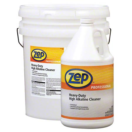 R08624 ZEP HEAVY DUTY HIGH ALKALINE CLEANER 4-1 GAL/CASE