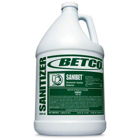 Betco® Sanibet™ Disinfectant Sanitizer - Gal.