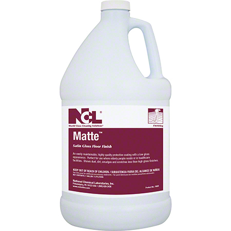 NCL® Matte™ Satin Gloss Floor Finish - Gal.