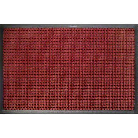M + A Matting Waterhog® Classic - Dark Brown, 3x4