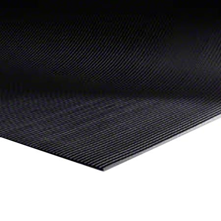 M + A Matting Sure Tread™ V-Groove - Black, 3'x105'