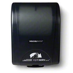 WausauPaper® OptiServ Hybrid™ Roll Towel Disp.-Black