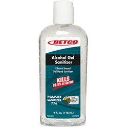 Betco® Alcohol Gel Sanitizer - 4 oz.
