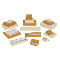 "BOXit White Swirl Jewelry Box - 9 3/4"" x 1 7/8"" x 1 1/4"""
