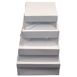 BOXit Light White Hat Boxes