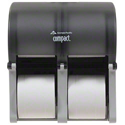 GP Pro™ Compact® Quad Coreless Tissue Dispenser - Smoke