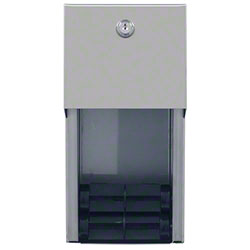 GP Pro™ Covered 2-Roll Vertical Tissue Dispenser