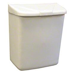 HOSPECO® Feminine Hygiene Waste Receptacle - White