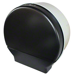 "Impact® Single 9"" Jr. Jumbo Toilet Tissue Dispenser -Smoke"