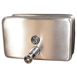 Impact® Horizontal Stainless Steel Lotion Soap Dispenser