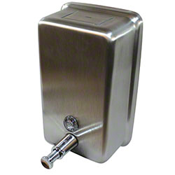 Impact® Vertical Stainless Steel Lotion Soap Dispenser
