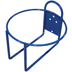 Impact® Round Blue Epoxy Wall Bracket