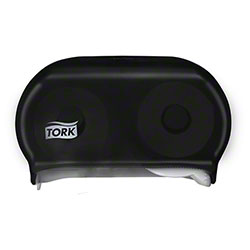 Tork® Twin Bath Tissue Roll Dispenser - Smoke