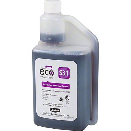 Buckeye® Eco® S31 pH Neutral Cleaner - 0.95 L