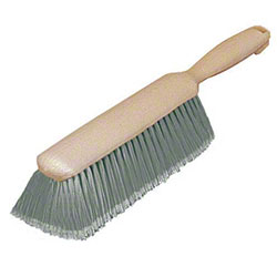 "Carlisle Flo-Pac® Counter Brush - 8"" Grey, Flagged Plastic"