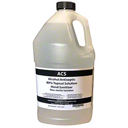 ACS Alcohol Antiseptic 80% Topical Solution Hand Sanitizer - Gal.