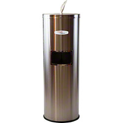 FLEX® Disinfectant Wipes Floor Dispenser - Stainless Steel