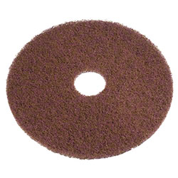 Americo Brown Stripping Floor Pad - 17""