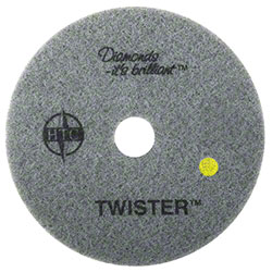 "Americo Twister™ Yellow Floor Pad - 14"", 1500 Grit"