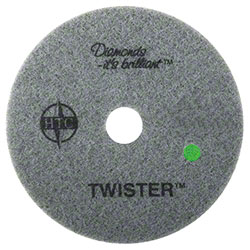 "Americo Twister™ Green Floor Pad - 17"", 3000 Grit"