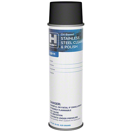 Husky® 1211 Stainless Steel Cleaner Polish - 15 oz.