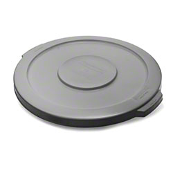 Rubbermaid® Lid For 2610 Brute® Round Container - Gray