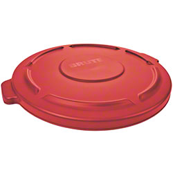 Rubbermaid® Lid For 2632, 2634 BRUTE® Round Cont. - Red