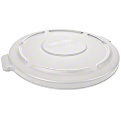Rubbermaid® Lid For 2632, 2634 BRUTE® Round Cont. -White