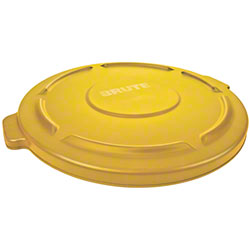 Rubbermaid® Lid For 2632, 2634 BRUTE® Round Cont.-Yellow