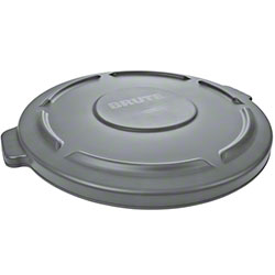 Rubbermaid® Lid For 2641, 2643 BRUTE® Round Cont. - Gray