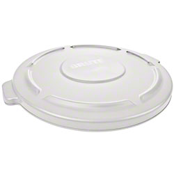 Rubbermaid® Lid For 2641, 2643 BRUTE® Round Cont. -White